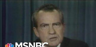 It's Been 44 Years Since Richard Nixon Resigned In Disgrace   Morning Joe   MSNBC
