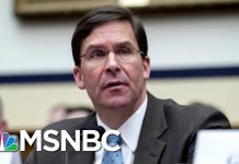 Senate Confirms Mark Esper As New Secretary Of Defense | Velshi & Ruhle | MSNBC