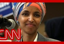 Crowd surprises Rep. Ilhan Omar at airport with new chant