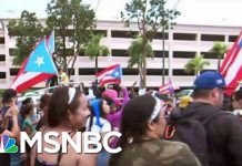 Thousands Celebrate Puerto Rico Gov. Resignation: 'Bye Bye Ricky' | Katy Tur | MSNBC