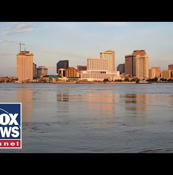 New Orleans officials hold press conference on approaching storm