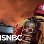 Coast Guard Rescuing Dozens In Potential 'Major Incident' On Boat Near Santa Cruz Island | MSNBC